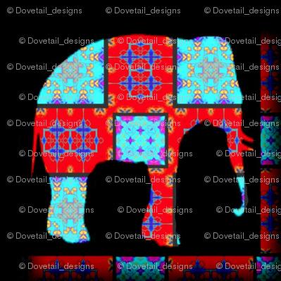 Rockin' Moroccan Elephant