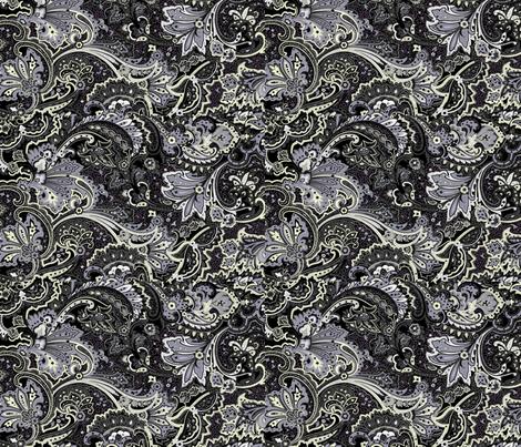 Midnight Escape fabric by flyingfish on Spoonflower - custom fabric