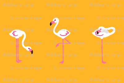 Flamingo Orange Small