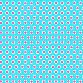 Dotty Light Blue Small