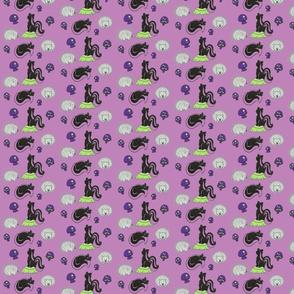 Friend or Foe in Purple