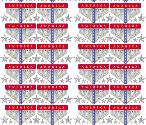 AMERICA_AMERICA_2_up- fabric by pad_design on Spoonflower - custom fabric