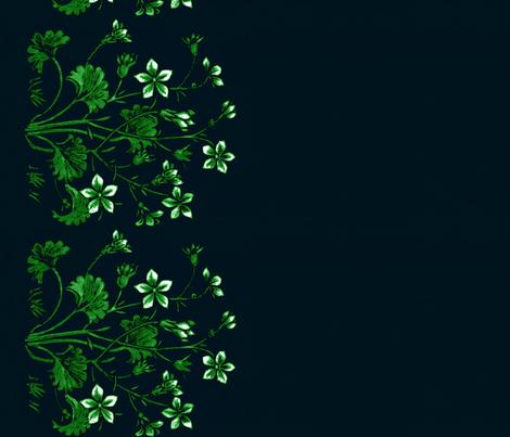 A jasmine and Ginkgo border   fabric by paragonstudios on Spoonflower - custom fabric