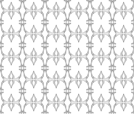 Pattes disparues fabric by botic_design on Spoonflower - custom fabric