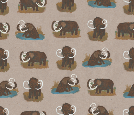 woolley fabric by cinqchats on Spoonflower - custom fabric