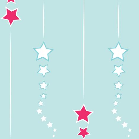 Fizzle Star fabric by tarabstudio on Spoonflower - custom fabric