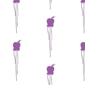 Drippy Apple Purple