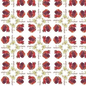 pomegranate passion-fabric