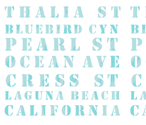Laguna Beach fabric by fable_design on Spoonflower - custom fabric