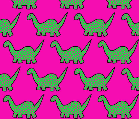 dino fabric by the_design_house on Spoonflower - custom fabric