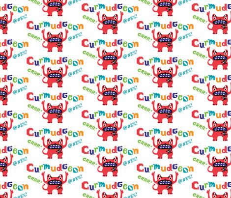 Crumudeon fabric by andibird on Spoonflower - custom fabric