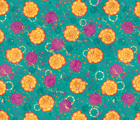Endothyra fabric by jennartdesigns on Spoonflower - custom fabric