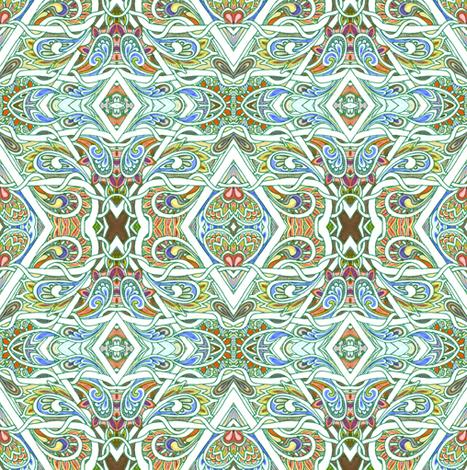 My Paisley Babushka fabric by edsel2084 on Spoonflower - custom fabric