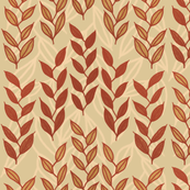 Layered Minoan grasses on beige by Su_G