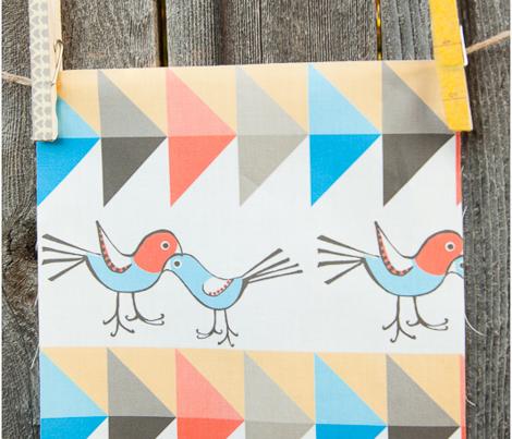 Nested-lovebirds