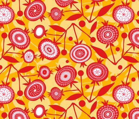 Pom Pom D'or fabric by spellstone on Spoonflower - custom fabric