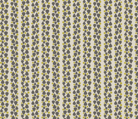 Tears_of_extinction_yellow_grey fabric by glorydaze on Spoonflower - custom fabric