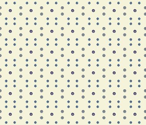 Poly-dots fabric by koalalady on Spoonflower - custom fabric
