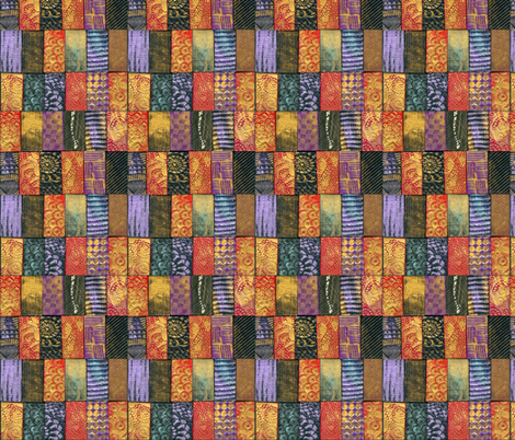 Polymer Clay Tiles-multi colored fabric by koalalady on Spoonflower - custom fabric
