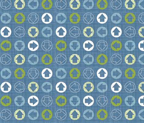 direction spots fabric by cjldesigns on Spoonflower - custom fabric
