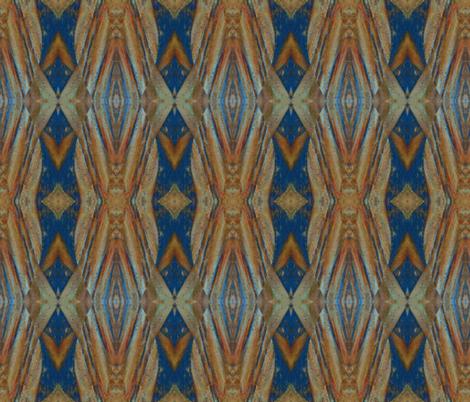Painted Cedar fabric by anniedeb on Spoonflower - custom fabric