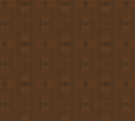 Brown Woven Look Pattern © Gingezel™ 2012 fabric by gingezel on Spoonflower - custom fabric