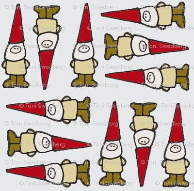 Gnome Grid Grey