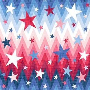 Maddox ombre stars and stripes