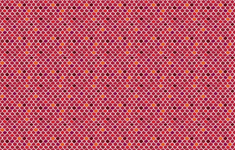 Red Scales by frizt.in fabric by friztin on Spoonflower - custom fabric