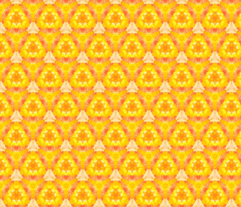 That's just peachy in half-brick repeat fabric by anniedeb on Spoonflower - custom fabric