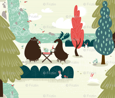 Picnic by frizt.in