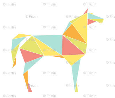 Origami Horses
