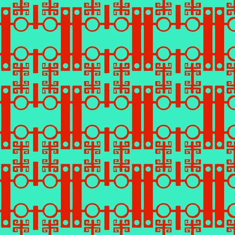 Small Chinoiserie fabric by boris_thumbkin on Spoonflower - custom fabric