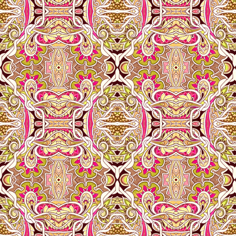 Our Mother of Paisley fabric by edsel2084 on Spoonflower - custom fabric