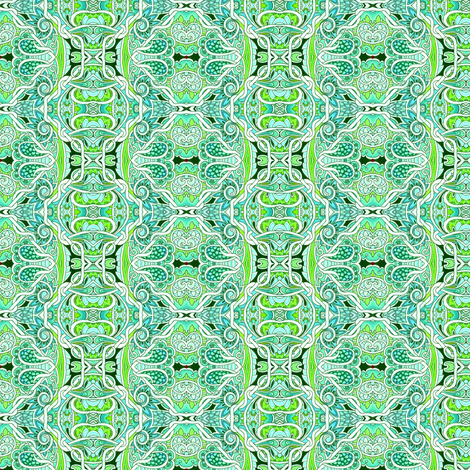In the Paisley Jungle  fabric by edsel2084 on Spoonflower - custom fabric