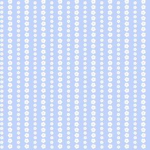 Bluebird Blossom Stripe