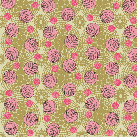 1950 Roses fabric by kirpa on Spoonflower - custom fabric
