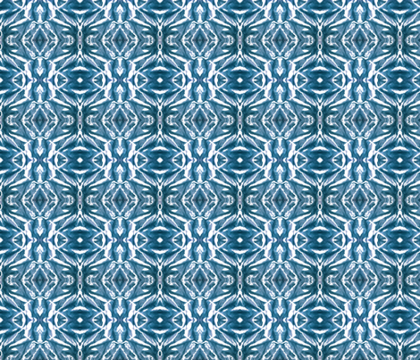 #SFDesignADay - Day 11 - Dyed Fabric. Sun kissed Water fabric by house_of_heasman on Spoonflower - custom fabric