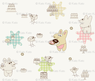 Kato- cakes and donuts