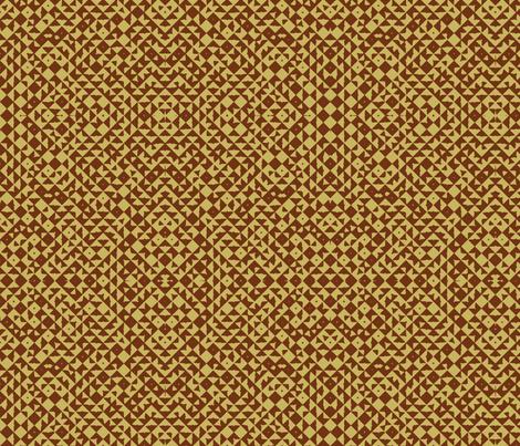 Diamond Realm brown fabric by flyingfish on Spoonflower - custom fabric