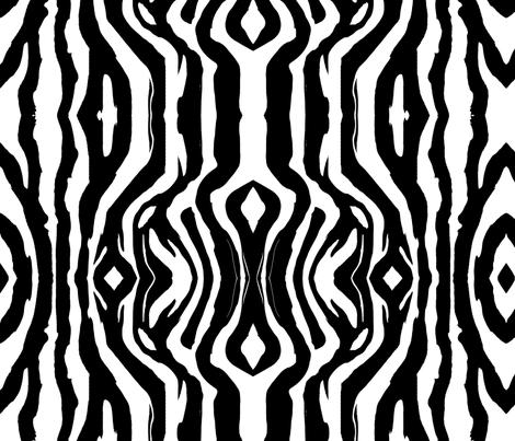 Zebra large fabric by flyingfish on Spoonflower - custom fabric