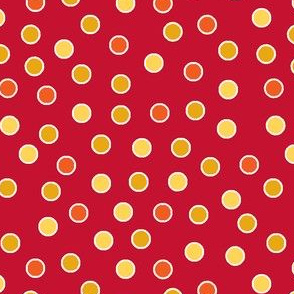 red yellow orange spots