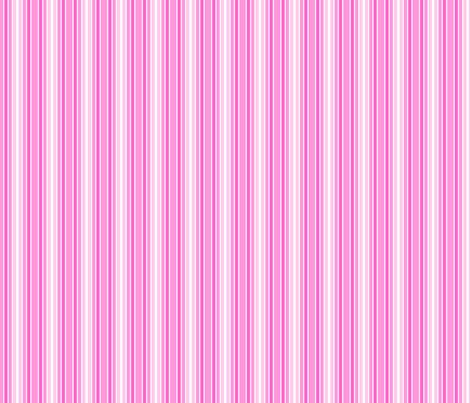 Pink Bird Stripe fabric by shelleymade on Spoonflower - custom fabric
