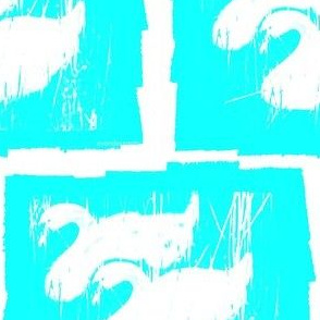 The Blue Swans by evandecraats June 21, 2012