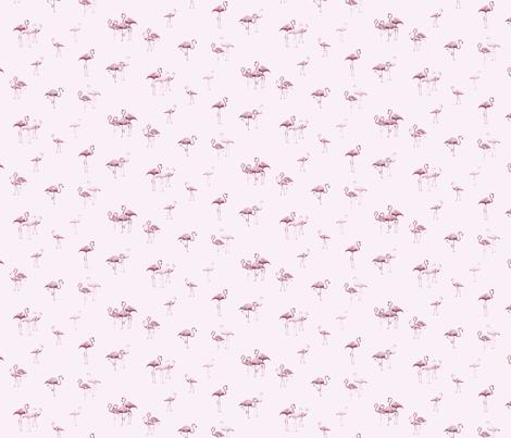 flamingos2 fabric by owls on Spoonflower - custom fabric