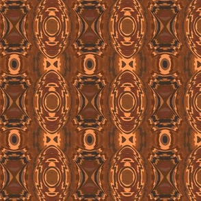Southwestern Style Brown Geometric 2