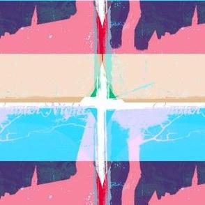 Sumer Nights 1 by Evandecraats, June 21, 2012 in blue, pink, red, green