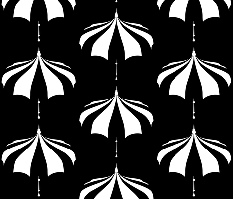 UMBELAS PAGODA 9 fabric by umbelas on Spoonflower - custom fabric