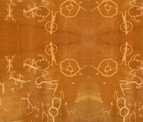 Rock Art fabric by arianagirl on Spoonflower - custom fabric