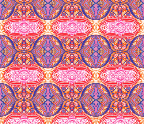 Sherbet_Shells fabric by yezarck on Spoonflower - custom fabric